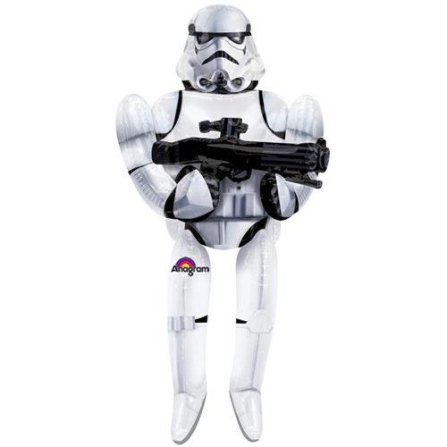 Шар 112 см Ходячая Фигура Звездные войны Штурмовик