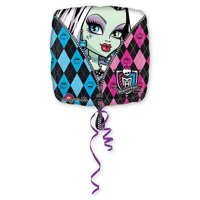 Шар 46 см Квадрат Monster High