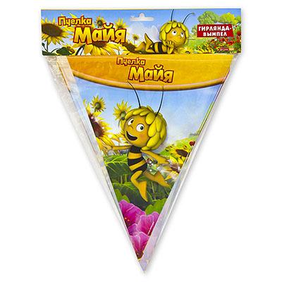 Гирлянда-вымпел Пчелка Майя 360 см