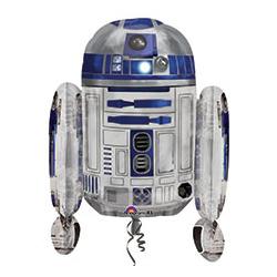 Шар 63 см Фигура Звездные Войны R2D2