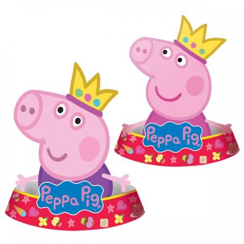 Колпачок Пеппа-принцесса фигурный 6 шт
