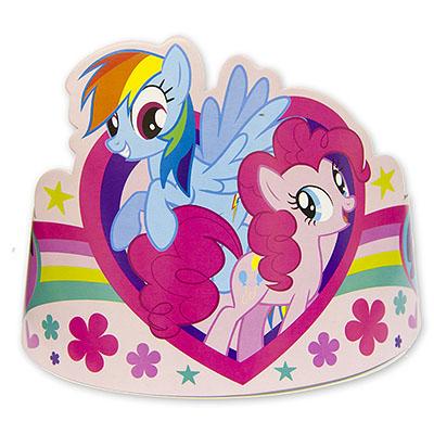 Тиара бумажная My Little Pony 8 шт