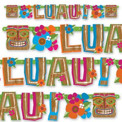 Гирлянда-буквы LUAU 150 см