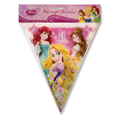 Гирлянда-вымпел Disney Принцессы 360 см