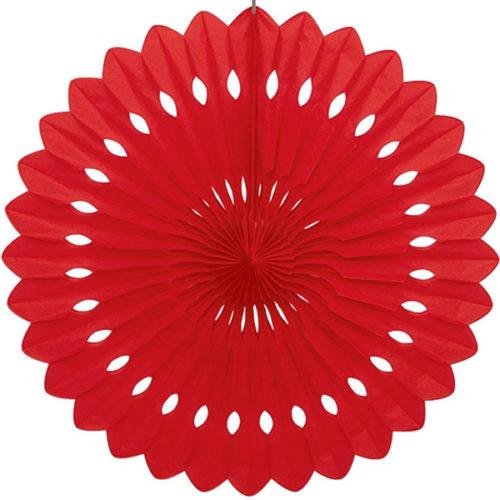 Диск Бумажный 30 см красный