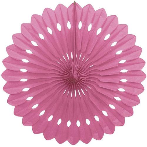 Диск Бумажный 30 см розовый