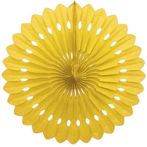 Диск Бумажный 40 см желтый
