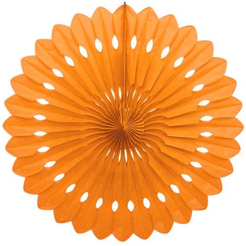 Диск Бумажный 40 см оранжевый