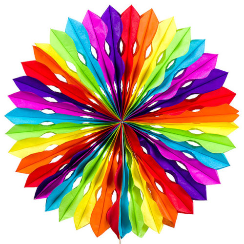 Диск 40 см радуга