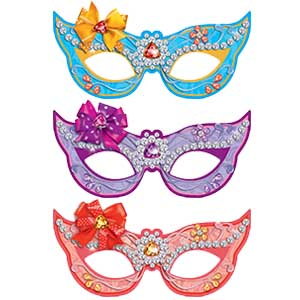 Карнавальные маски бумажные Волшебные питомцы 6 штук