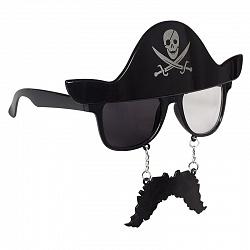 Очки Очки с усами Пират