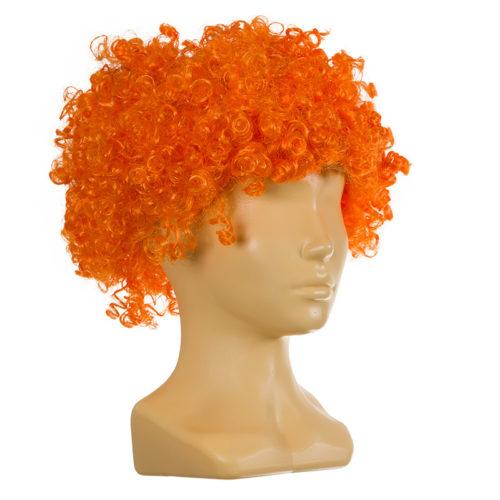 Парик Клоун оранжевый детский