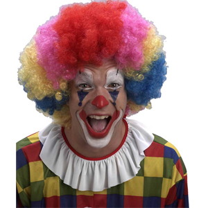 Парик Клоун цветной