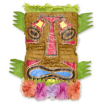 Пиньята 46 см Гавайи Тотем с лентами