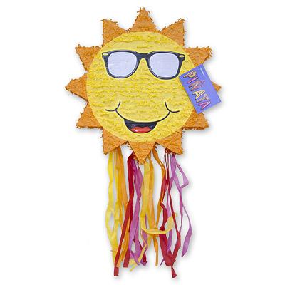 Пиньята 48 см Солнце с лентами
