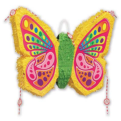 Пиньята 58 см Бабочка складная