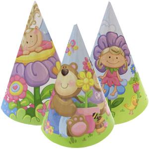 Праздничные колпачки Детская коллекция 6 штук