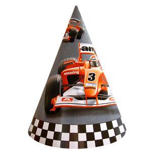 Праздничные колпачки Формула-1 6 штук