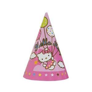 Праздничные колпачки Hello Kitty 8 штук