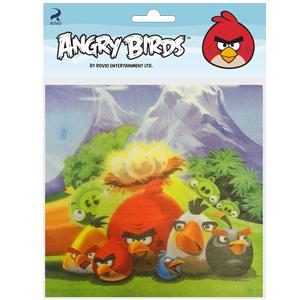 Салфетки 33см X 33см Angry Birds 20 штук