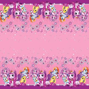 Скатерть полиэтиленовая Волшебные питомцы 140смX180см