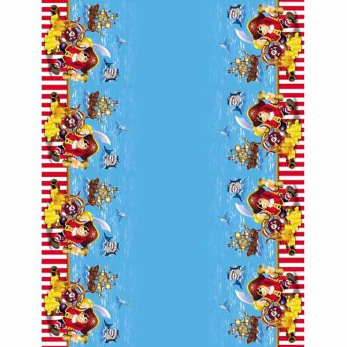 Скатерть полиэтиленовая Веселый Пират 140см X 180см