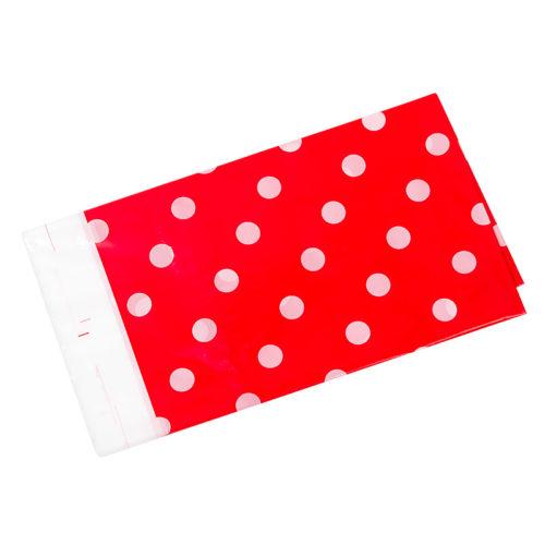 Скатерть полиэтиленовая Красные точки 180смX180см