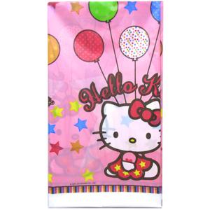 Скатерть полиэтиленовая Hello Kitty 140 х 260см
