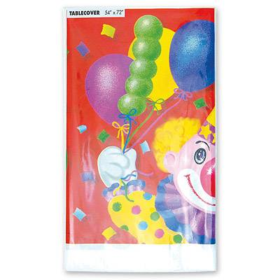 Скатерть п-э Клоун с шарами 140х180 см