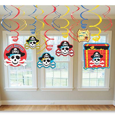Спираль 46-60 Пираты 12 штук
