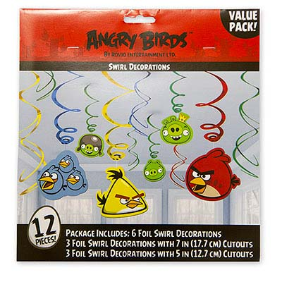 Спираль 46-60 Angry Birds 12 штук