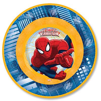 Тарелка бумажная 17 см Человек-Паук 6 шт