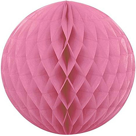 Шар Бумажный 30 см розовый