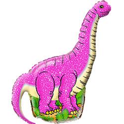 Шар 36 см Мини-фигура Динозавр диплодок Фуше
