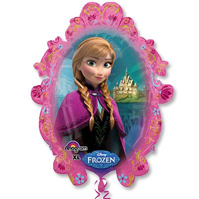 Шар 63 см Фигура Frozen Холодное сердце