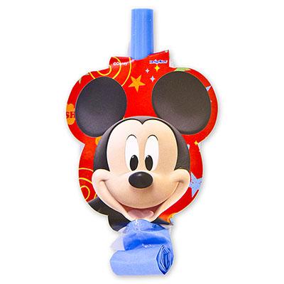 Язык-гудок Микки Маус 8 штук