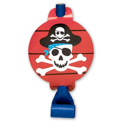 Язык-гудок Пираты 8 штук