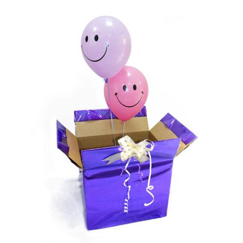Коробка сюрприз с 2 смайлами