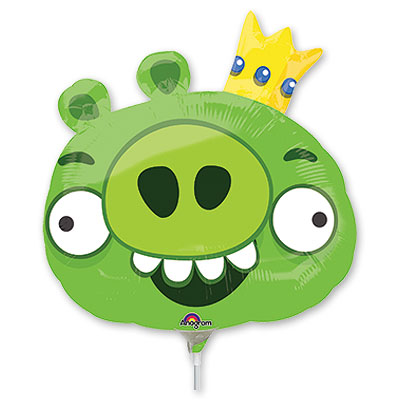 Шар 35 см Мини-фигура Angry Birds-Король Свиней