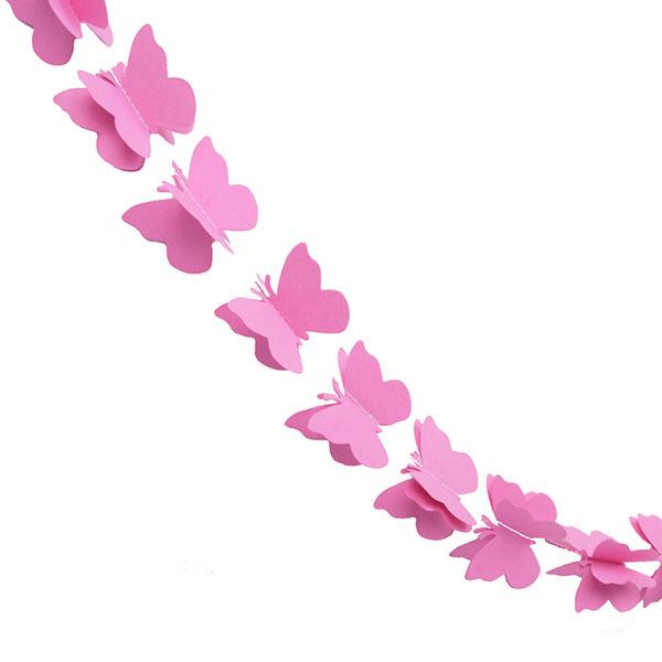 Бабочки для гирлянд своими руками 260