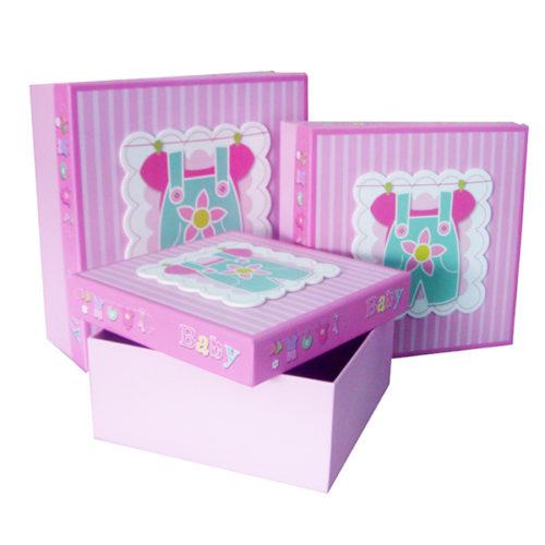 Коробка квадрат Набор Малышка 24х24х10 см