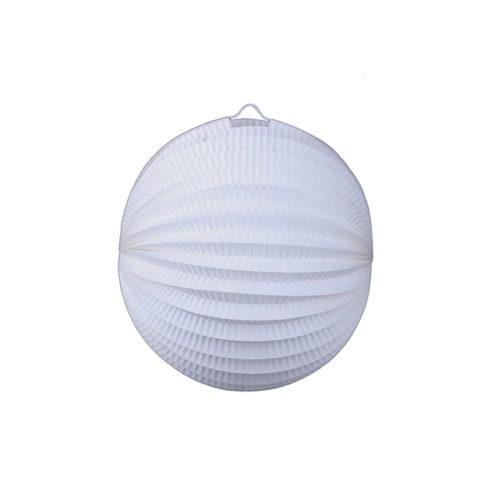Подвесной фонарик Аккордеон 23 см белый