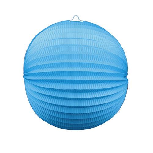 Подвесной фонарик Аккордеон 34 см синий