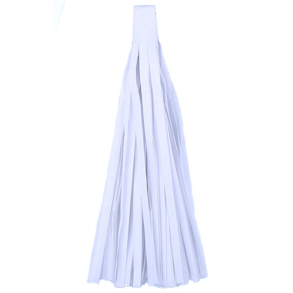 Помпон Кисточка Тассел 35 х 25 см белый 10 листов