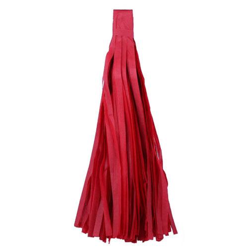 Помпон Кисточка Тассел 35 х 25 см красный 10 листов