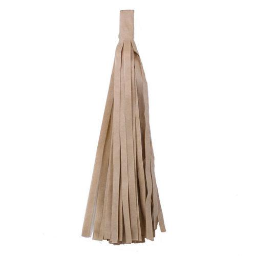 Помпон Кисточка Тассел 35 х 25 см латте 5 листов