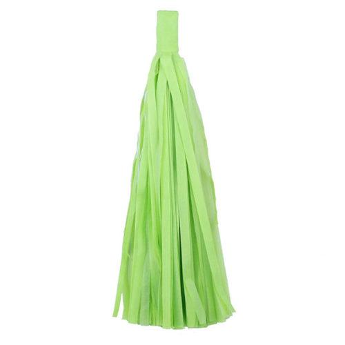 Помпон Кисточка Тассел 35 х 25 см салатовый 5 листов