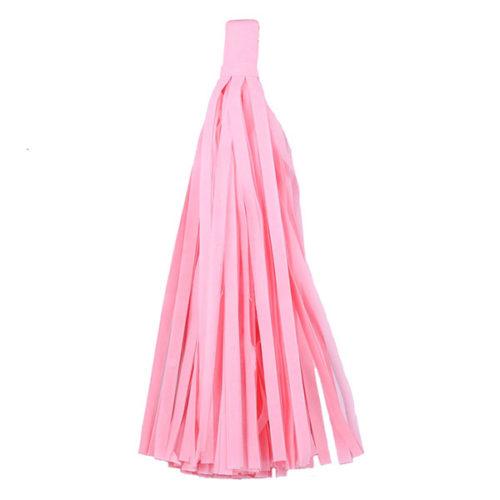 Помпон Кисточка Тассел 35 х 25 см светло-розовый 10 листовПомпон Кисточка Тассел 35 х 25 см светло-розовый 10 листов