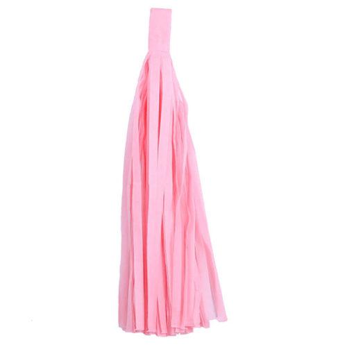 Помпон Кисточка Тассел 35 х 25 см светло-розовый 5 листов