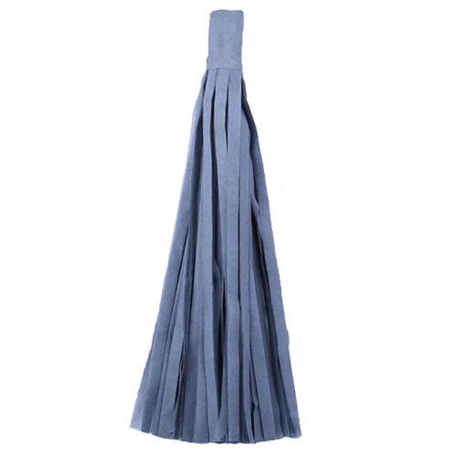 Помпон Кисточка Тассел 35 х 25 см серый 10 листов